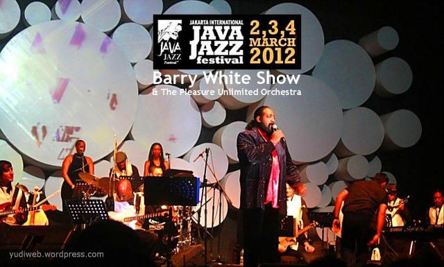 Java Jazz 2012 Barry White Show & The Pleasure Unlimited Orchestra