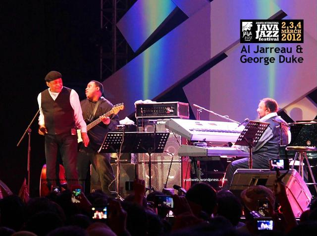 Java Jazz 2012 - GEORGE DUKE  Al Jarreau