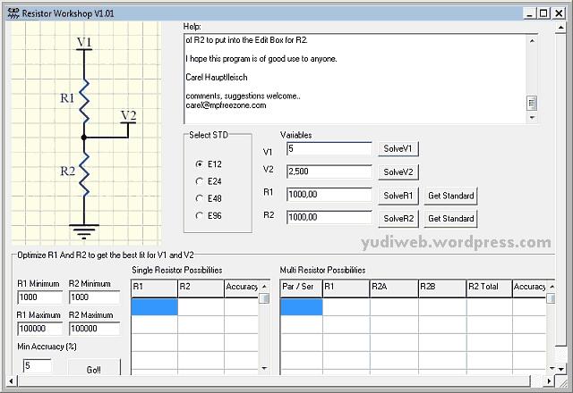 resistor-workshop-calculator