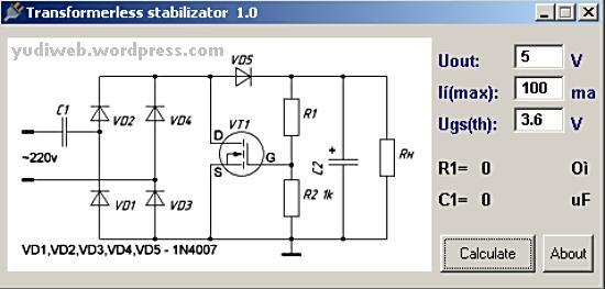 Transformerless Stabilizator