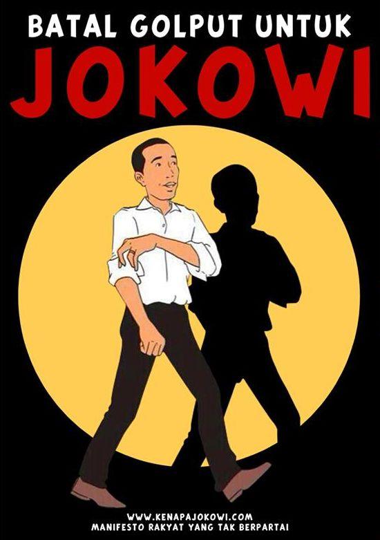 Jokowi batal golput