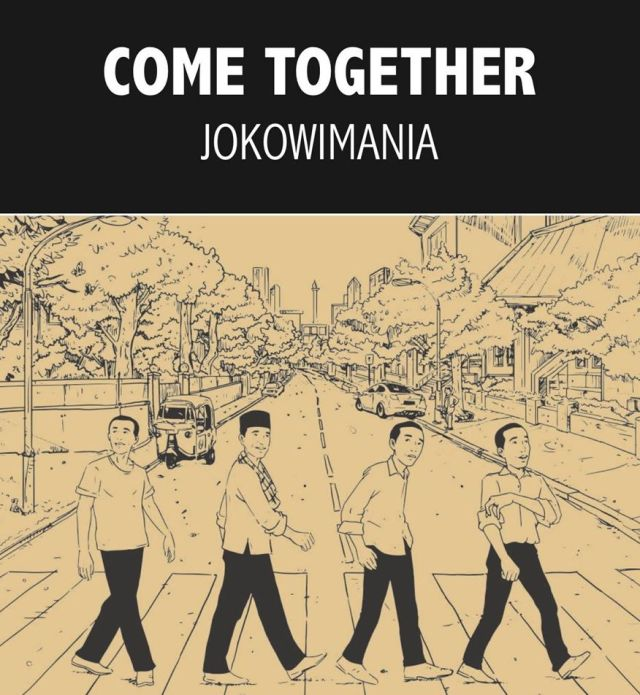 Jokowi Come Together