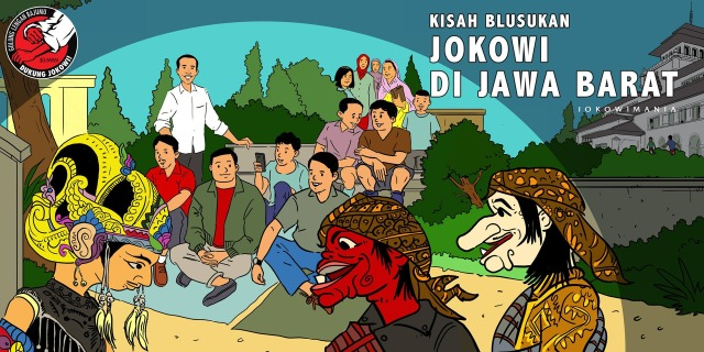Jokowi di Jawa Barat 2