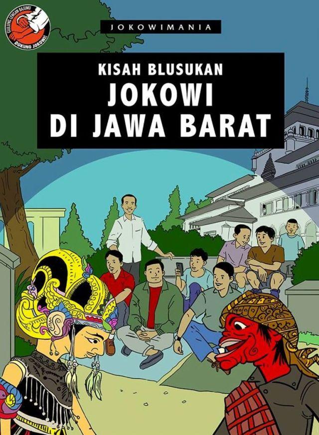 Jokowi di Jawa Barat