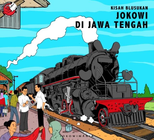 Jokowi di Jawa Tengah