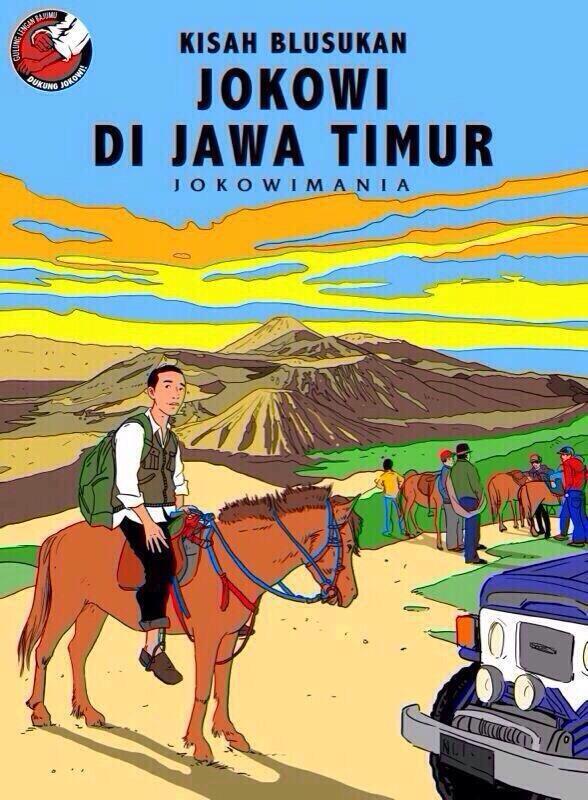 Jokowi di Jawa Timur