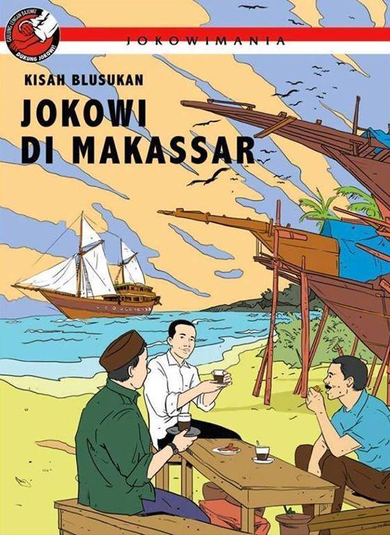 Jokowi di Makassar