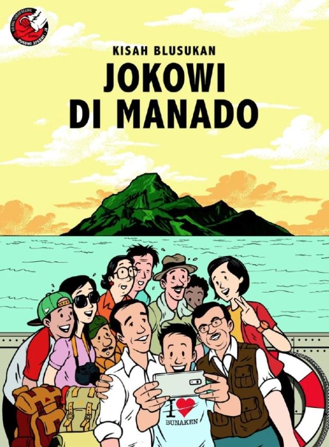Jokowi di Manado