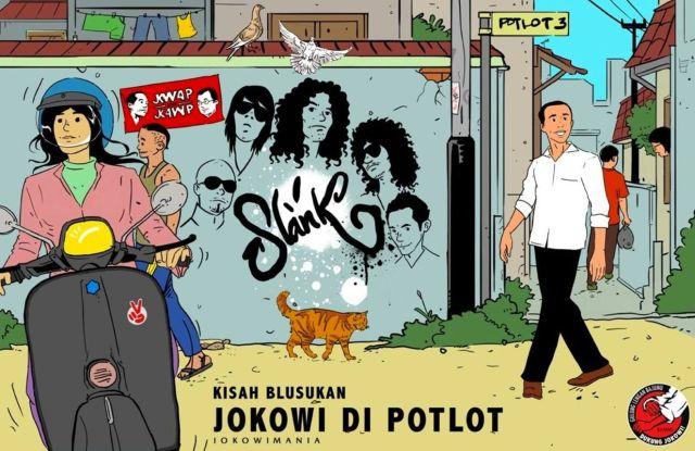 Jokowi di Potlot