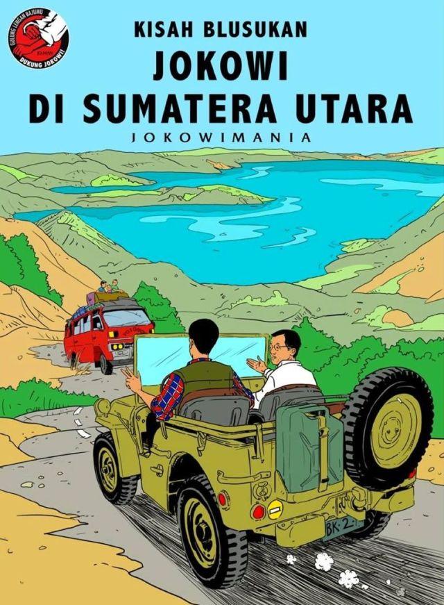 Jokowi di Sumatera Utara