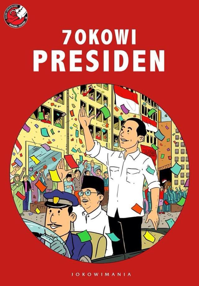 jokowi presiden amanah tak mudah untuk negeri yang demikian parah