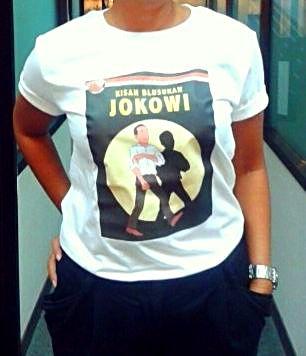 Jokowi t-shirt tintin 2