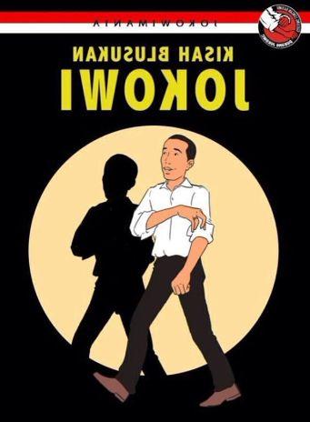 Jokowi t-shirt tintin