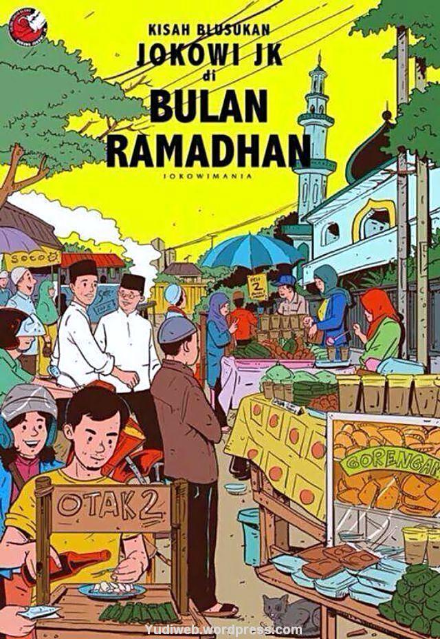 Jokowi tintin Ramadhan