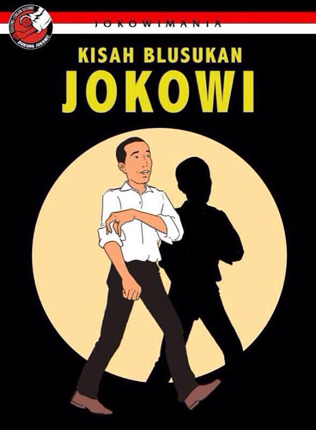 kisah Jokowi blusukan