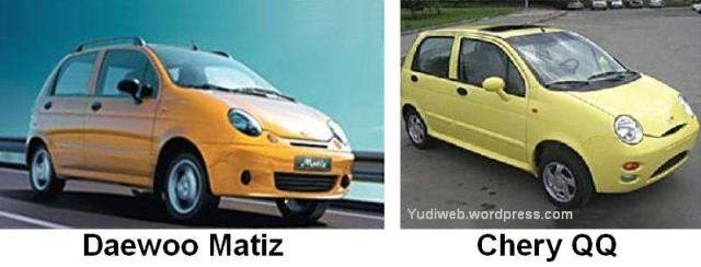 Daewoo Matiz v Chery QQ