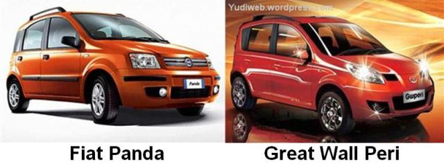 Fiat Panda v Great Wall Peri