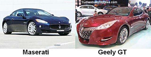 Maserati v Geely GT