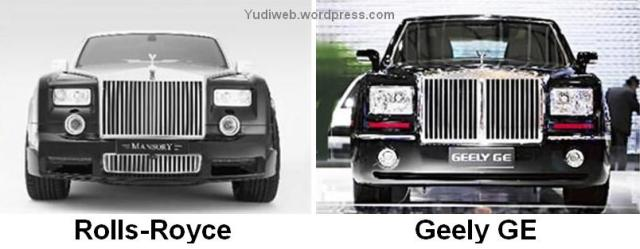 Rolls-Royce and Geely GE
