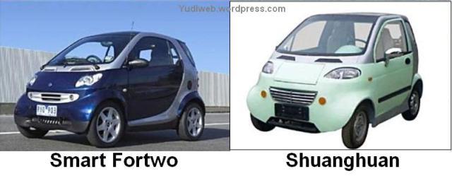 Shuanghuan v Smart Fortwo