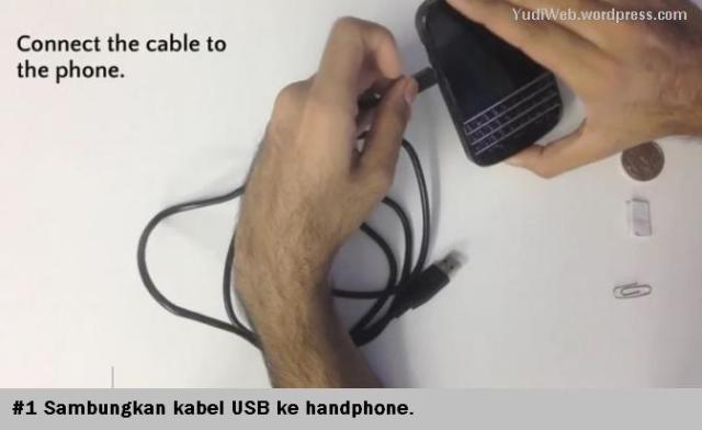 Charge Hape Pakai Klip dan Koin - 01