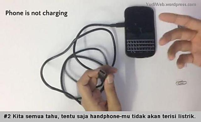 Charge Hape Pakai Klip dan Koin - 02