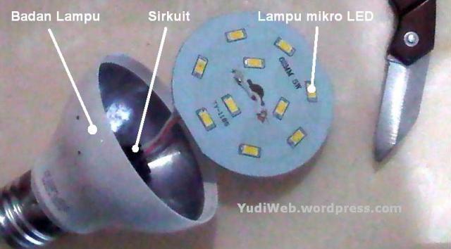 Cara lampu bohlam LED mati menjadi menyala 03